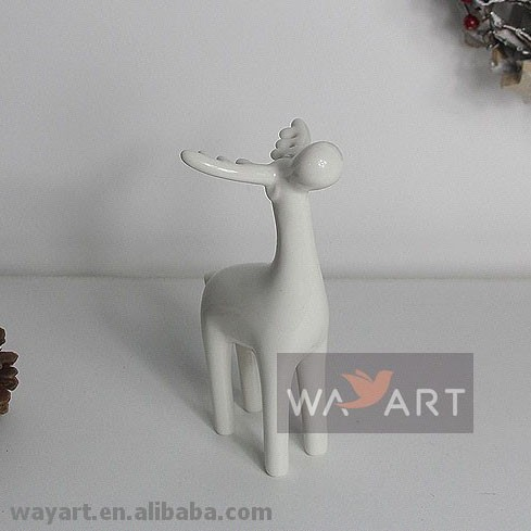 Witte keramische rendieren voor huisdecoratie aardewerk en glazuur product id 60196768464 dutch - Afbeelding van huisdecoratie ...