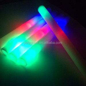Factory RGB Style LED Light Stick Concert Cheering Props Multi-color Flashing Led Foam Stick