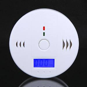 CO Carbon Monoxide Poisoning Gas Sensor Monitor Alarm LCD Detector Home Security /ITEM#HGO-IW 73ET228832
