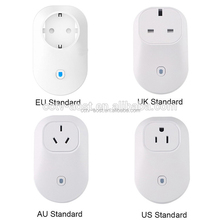 Smart home 16A+timer EU US wifi power socket plug outlet,APP Wireless Controls for ios pad Android,domotica