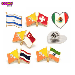 International wholesale bulk custom country us american flag lapel pin flag pins