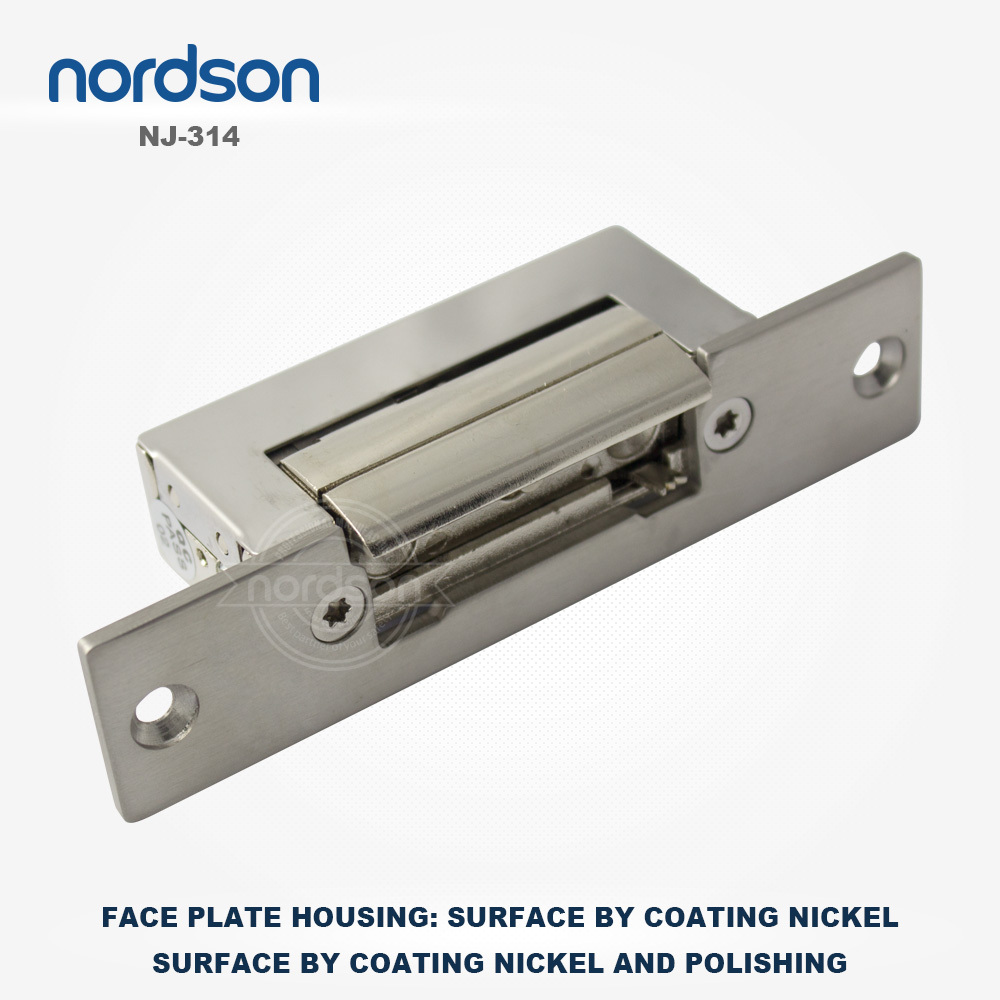 nordson european adjustable electric strike for 90 degree swing door electric door strike nj