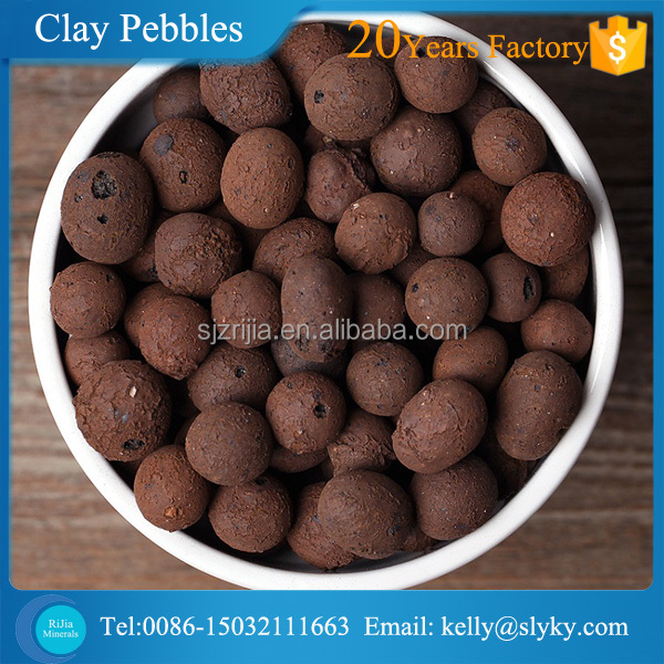 Soiless growing fertilizer Expanded Clay Pebbles