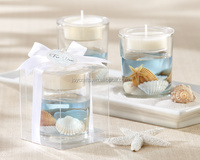 Wedding Return Gifts Seashell Gel Tealight Candle