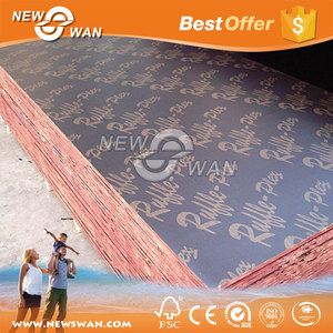 Hot sale Marine plywood Manufacturer / 12mm 15mm 18mm Film Faced Plywood