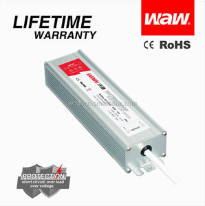 IP68 led driver 60W 24V 2.5A BG-60-24 waterproof transformer with CE ROHS