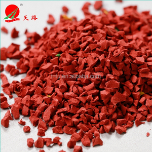 Red EPDM Rubber Granules for Sports Field