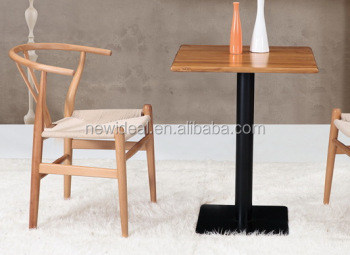 2 Person Dining Table With Wooden Top And Iron Base Na5028 Product On