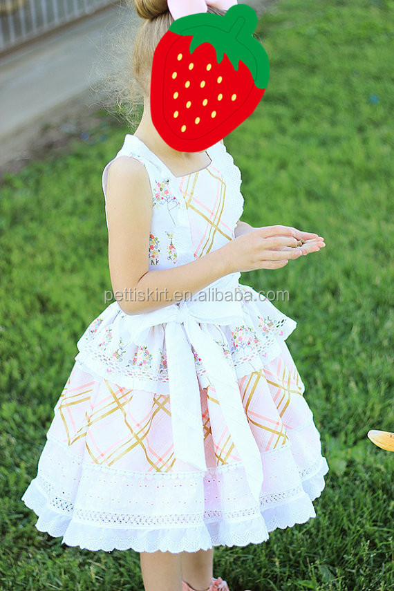 Latest Dress Designs Pakistan 2015 Fashion Baby Girls Birthday Dress for Little Princess
