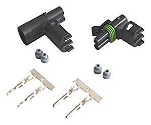 CNKF 10 Sets Delphi GM Haltech MAP type 1 pin male and female Weatherpack waterproof auto Connector 12015791 12010996