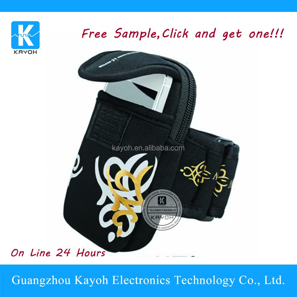 Fitness Cycling Sports Running Wrist Pouch Mobile Cell Phone Arm Band Bag Wallet