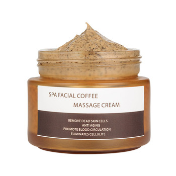 Private Label Natural Creamy Coffee Scrub Face Scrub Exfoliator