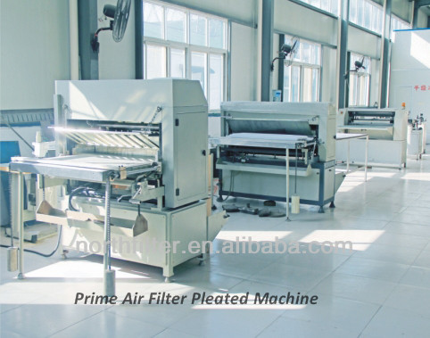 Prime Air Filter Pleated Machine_