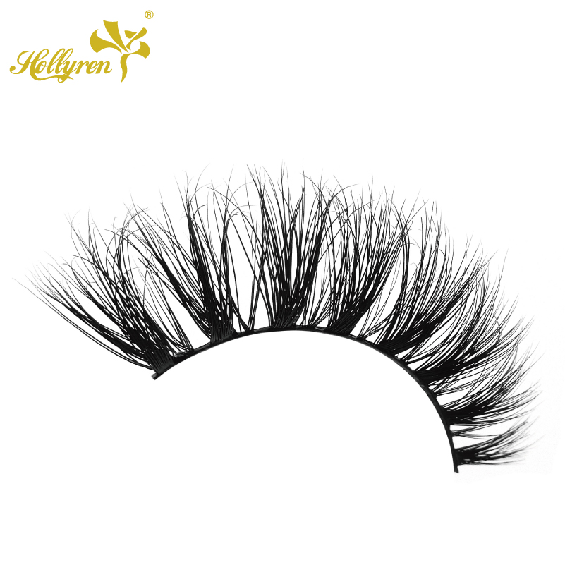 Top Quality Private Label Natural Looking 3D Real Mink Fur Cannes Eye Lashes Real 3d Mink Luxury Lashes Private Label Wholesale