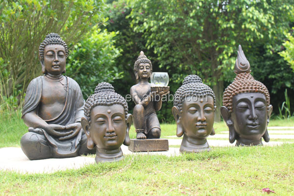 Shakyamuni buddha statue for garden ornament