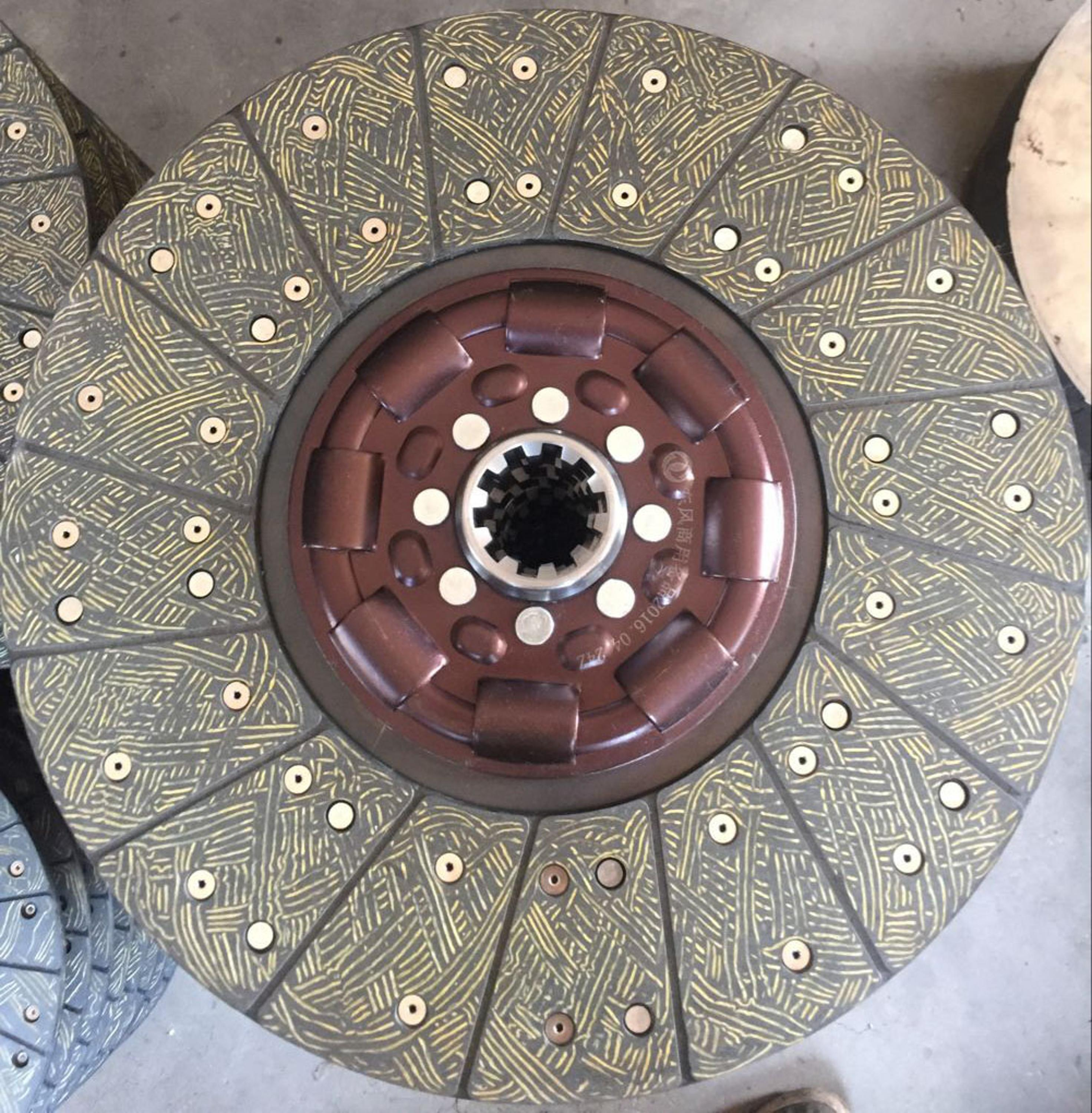 Foton truck spare parts 380mm clutch disc plate importers