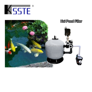 Water treatment koi pond bio sand filter equipment system for fish pool