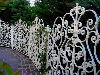Full Flower Wrought Metal Fence Panels For Garden Buy