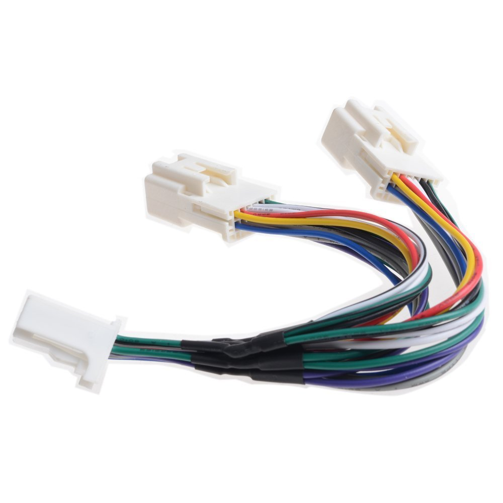 Cheap Best Car Cd Changer Find Deals On Line At Acura Mdx 2004 Dvd Player Wire Connections Schematic Diagram Connector Get Quotations 12v 6 Y Cable Aux Interface Splitter Use For Navigation