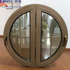 Semi circular design aluminum window European design round oval window
