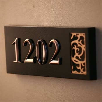 3d Led Lighted House Numbers/door Number For Hotel - Buy Lighted House  Numbers,Apartment Door Number,Hotel Door Numbers Product on Alibaba.com