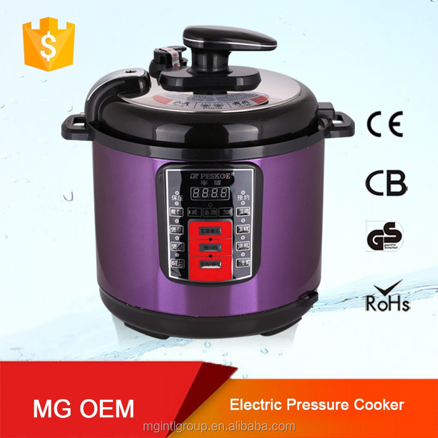 Alibaba China Trade Assurance Stainless steel pressure low cooker with aluminium steamer