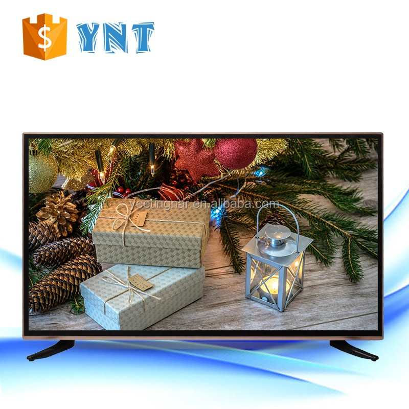 Guangzhou wholesale Fashion Design black tv lcd 32 inch LED flat screen televisions