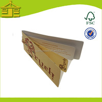 Unique design custom paper hang tag for kids garments from professional factory