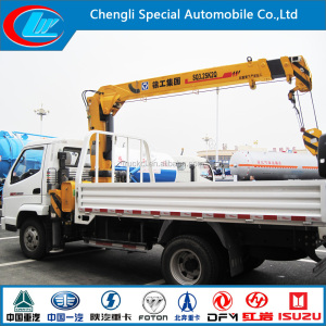 2015 New Design T-king truck crane 4X2 used hydraulic truck crane on hot sale