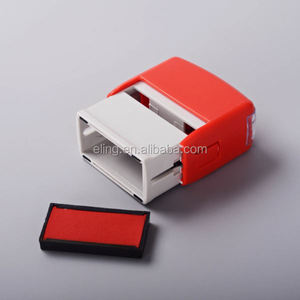 Plastic Self inking Stamp cheap custom stamp pens