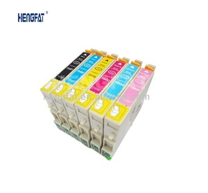 Compatible Ink Cartridge T0491 T0492 T0493 T0494 T0495 T0496 for Epson  Stylus Photo R210 R310
