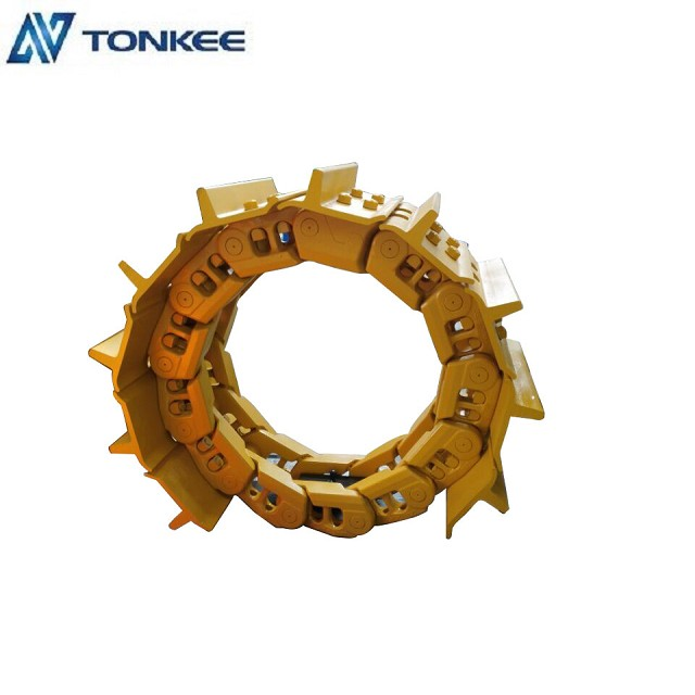 track group with shoes D10N D10R D10T track chain assy