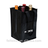 China promotional fashion custom wine tote bag wholesale