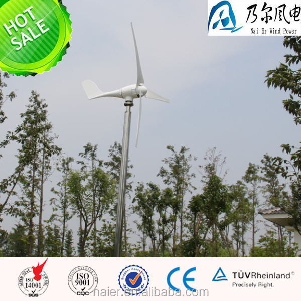 low noise 600w 12/24/48v wind turbine genearator/windmill with goods in stock made in china