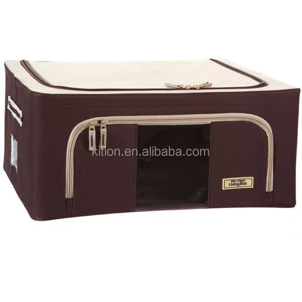 Solid Color Clothes Folding Storage Box Home living box for storage