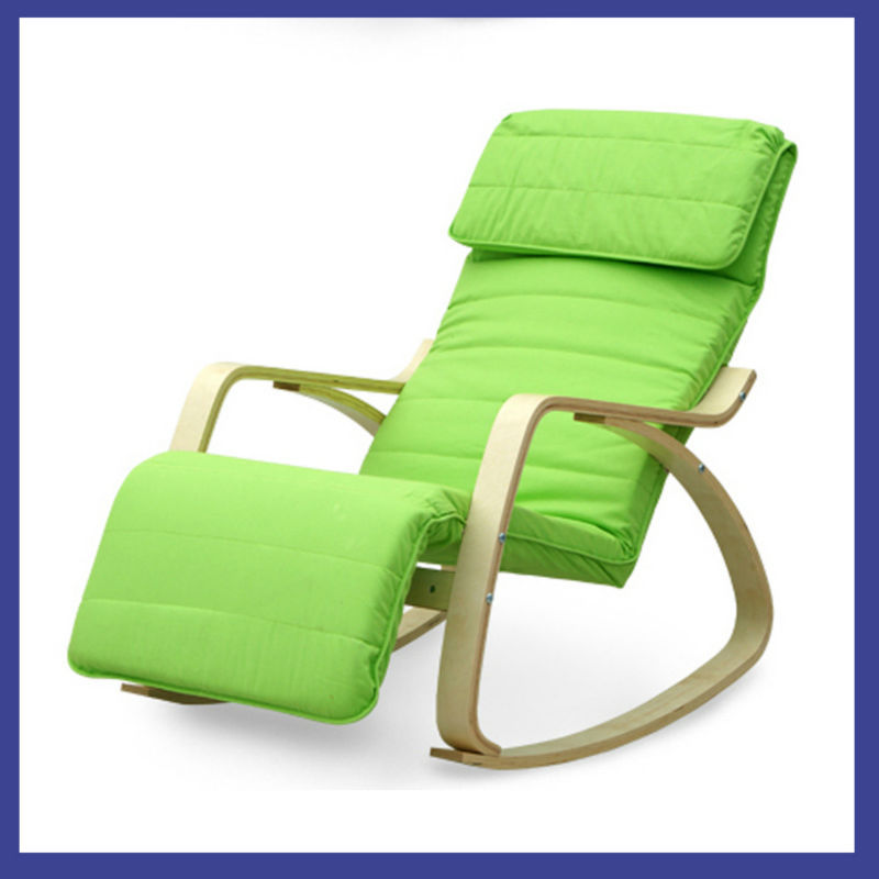 Modern wooden design relax chair solid wood leisure rocking chair home furniture made in china - Cheap relaxing chairs ...