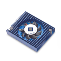 High Performance Customized Aluminum 6063 6061 T5 SSR Heat Sink Fan for CPU Processor