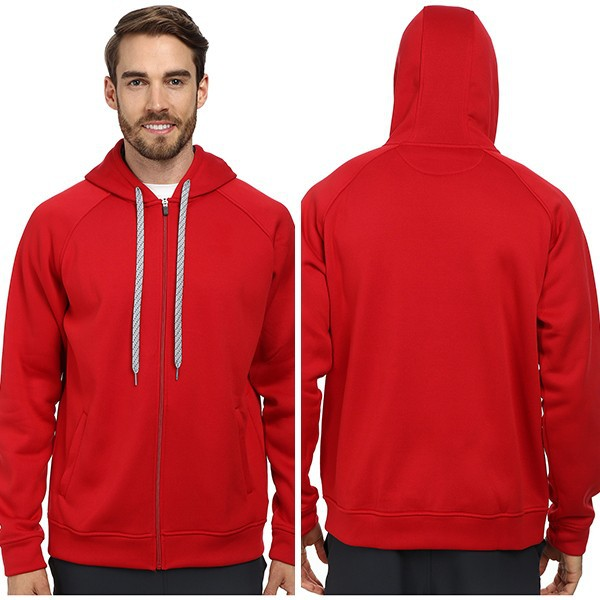 2015 New Design Men's Hoodies Red Zipper Pocket Hoodie - Buy ...