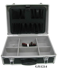 Strong&Portable Aluminum Tool BOX With Fold-Down Tool Pallet &AdjustableCompartments Inside