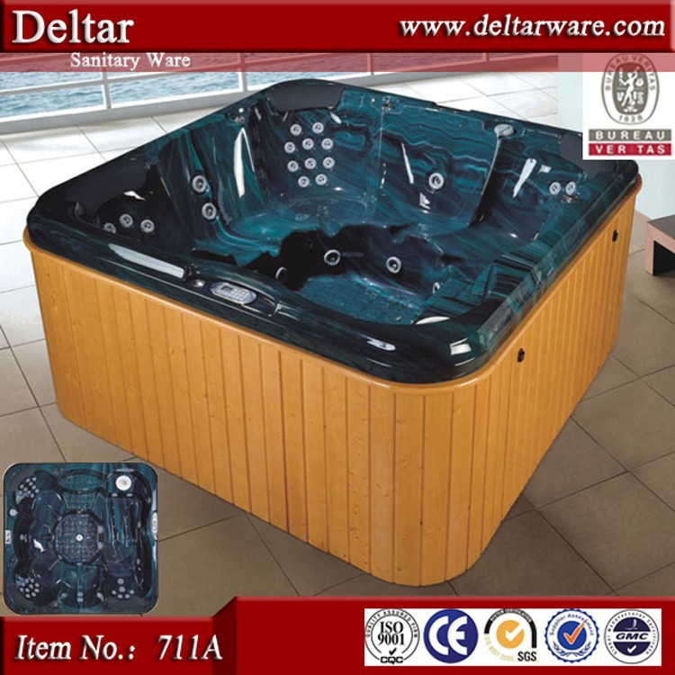 Italian style small whirlpool hot tub for a family,hot tubs outdoor used