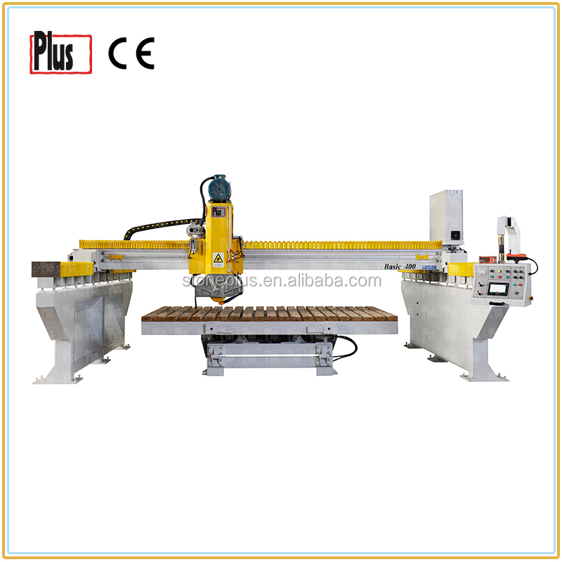 Basic600 newest bridge saw marble granite desktop laser cutting machine