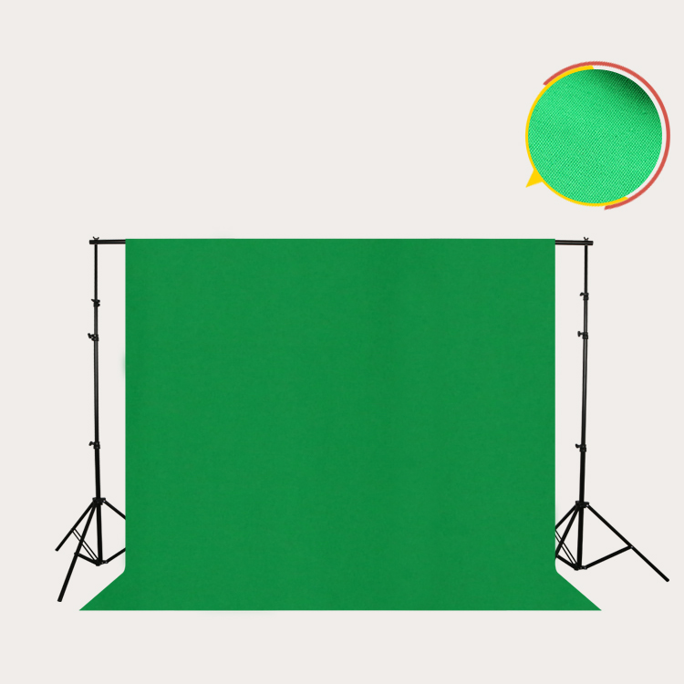 Collapsible 100% Cotton Muslin Portable Chroma Key Foldable Green Screen  For Studio - Buy Foldable Green Screen,Chroma Key Green For Studio,Portable