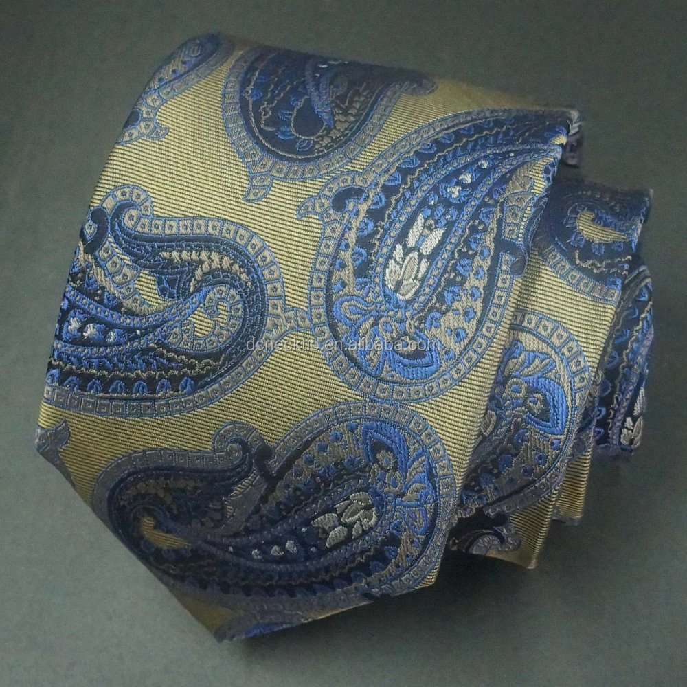 special popular new paisley model school tie