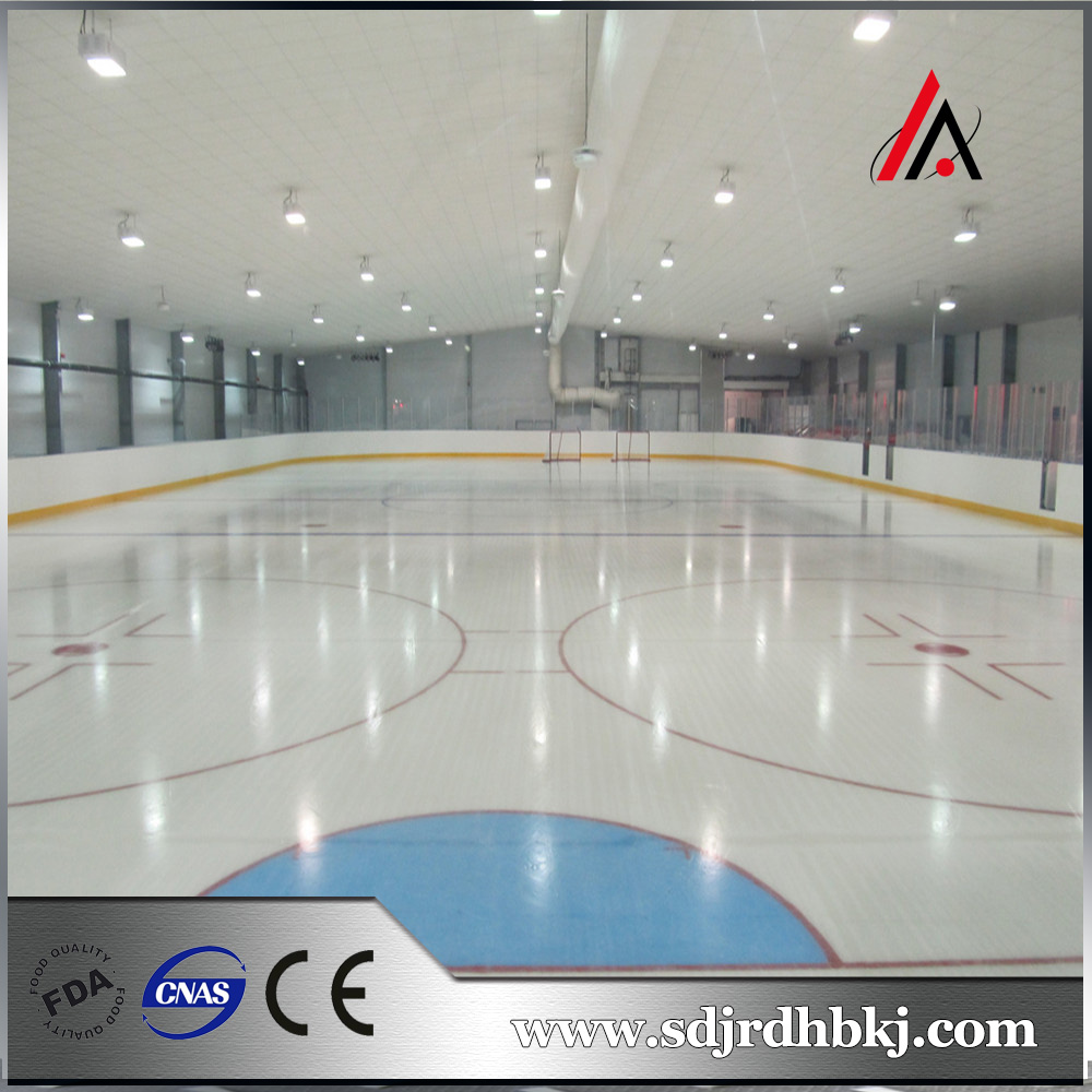 The cost is low Normal use in summer ice skates hockey field flooring