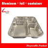 food use disposable take away aluminum foil container with lid