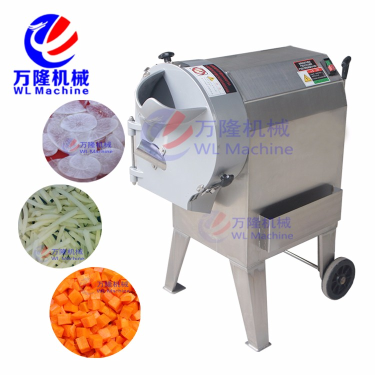 Root cubes cutter fruit and vegetable cutting machine