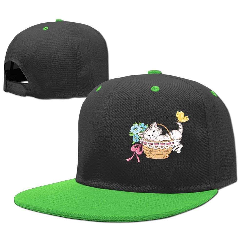 InterestPrint Cats and Dogs Adjustable Baseball Caps Dancing Hip Hop Cap