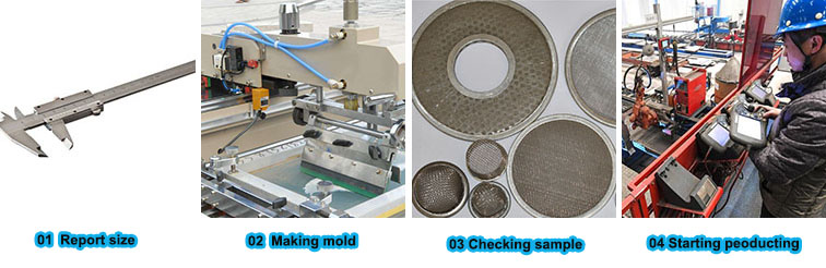 Website brouwsel filter 300 micron 750 micron rvs mesh filter cilinder