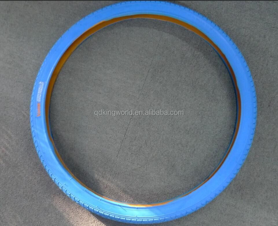 26*2.12 full blue color vgood bicycle tire