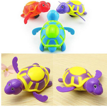 2017 Hot sale pvc swimming turtle toys for baby bath